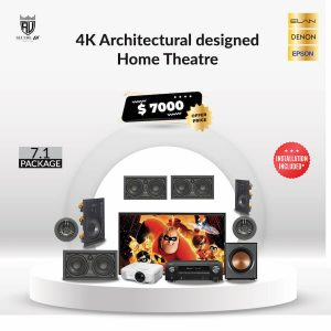 4K Architectural Designed Home Theatre Package