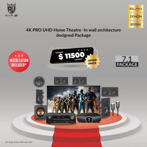 4K Architectural Design Home Theatre Package